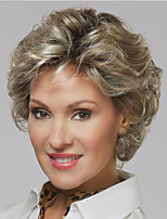 cheap -Synthetic Wig Curly Asymmetrical Wig Blonde Short Brown Blonde Synthetic Hair Women's Fashionable Design Exquisite Comfy Blonde Brown
