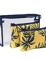cheap -Travel Organizer Cosmetic Bag Travel Toiletry Bag Large Capacity Waterproof Travel Storage Durable Transparent Tree PVC(PolyVinyl Chloride) For Everyday Use Cycling Portable