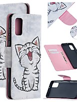 cheap -Case For Samsung Galaxy A21S Wallet  Card Holder  with Stand Full Body Cases Animal PU Leather Galaxy Note 20 Ultra S20 Plus A01 A11 M11 A21 A31 A41 A51 A71 5G Note 10 M31S