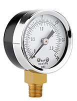 cheap -0-30PSI Mini Luchtdrukmeter Compressor Hydraulische Gauge Manometer Druk Tester Terug Mount Dial