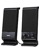 cheap -V-112 Active Speaker Elevation Design Computer Speaker Stereo Input Speaker USB-powered Speaker 3.5mm Audio Speaker Black