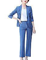 cheap -women's casual blazer pants sets formal casual suits set work wear for women