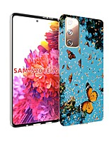 cheap -Case For Samsung Galaxy S20 FE Ultra-thin Pattern Back Cover Butterfly TPU Soft Galaxy S20 Plus Note 20 Ultra Note 10 Plus A11 A21S A31 A41 A51 A71 A81 A91