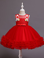 cheap -Princess Unicorn Dress Girls' Movie Cosplay Lace Sweet Red Christmas Halloween
