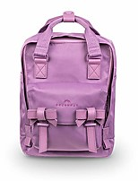 cheap -macaroon mini ribbon series 7l travel school ladies college girls lightweight casual daypacks bag small backpack (purple tulip)