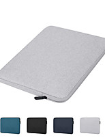 cheap -13.3 Inch Laptop / 14 Inch Laptop / 15.6 Inch Laptop Sleeve / Satchel / Tablet Cases Polyester Solid Colored / Plain for Men for Women for Business Office Waterpoof Shock Proof