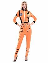 cheap -women's astronaut spaceman costume, white x-large