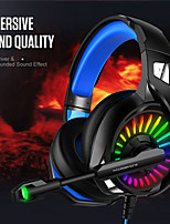 cheap -Gaming Headset with Microphone RGB Light Wired PC Headset with 7.1 Stereo Surround Sound Over-Ear Headphones for PC Laptop