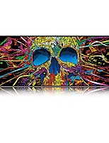 cheap -extended xxxl skull gaming mouse pad -31.5lx11.8wx0.12h- portable with extended xxl size - non-slip rubber base - special treated textured weave with precision control & #40;skeleton-xxl& #41;