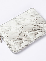 cheap -11.6 Inch Laptop / 12 Inch Laptop / 13.3 Inch Laptop Sleeve / Tablet Cases PU Leather / Polyurethane Leather Marble for Men for Women for Business Office Waterpoof Shock Proof
