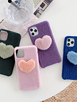 cheap -Case For iPhone 11 Shockproof Back Cover Heart TPU For Case 7/8/7P/8P/X/XS/XS MAX/SE 2020/11 PRO/11PRO MAX