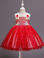 cheap -Princess Unicorn Dress Girls' Movie Cosplay Fashion Cute Red Christmas Halloween