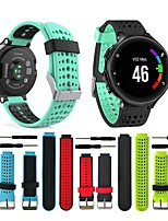 cheap -For Garmin Forerunner 235 WatchBand Silicone Strap Bracelet For Garmin Forerunner 220/230/620/630/735XT GPS Band  13colors