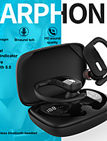 cheap -LITBest Wireless Earbuds TWS Headphones Earhook Bluetooth5.0 with Microphone with Volume Control with Charging Box for Sport Fitness LX_T17
