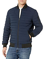 cheap -men's radius stretch bomber jacket, black, extra large