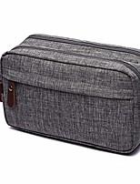 cheap -men's toiletry bag travel dopp kit bathroom shaving organizer for toiletries (grey)