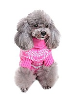 cheap -classical pet clothes by design winter warm christmas snowflake sweater dog coat with snowflake by