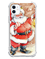 cheap -Christmas Case For Apple iPhone 12 iPhone 12 Mini iPhone 12 Pro Max Unique Design Shockproof Back Cover TPU