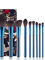 cheap -12PCS Sapphire Blue Grapes Makeup Brush Set Beauty Tools Soft Fiber Hair Loose Powder Foundation Brush Eye Shadow Brush High Gloss Concealer