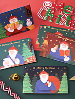 cheap -Christmas Decorations Christmas Ornaments Bronzing Card