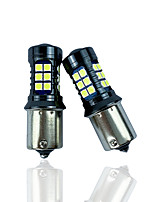 cheap -OTOLAMPARA 2pcs Car Light Bulbs 27 W SMD 3030 2160 lm 27 LED Car Canbus Light For universal All Models All years