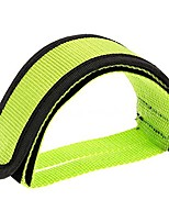 cheap -,fixie bmx fixed gear bike bicycle adhesive straps pedal toe clip strap belt cn (green)