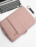 cheap -15.6 Inch Laptop Sleeve Oxford Fabric Solid Colored Unisex Waterpoof Shock Proof