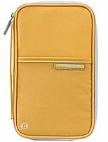 cheap -passport wallets, travel wallet, rfid family passport holder, trip document organizer (yellow)
