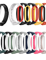 cheap -Watch Band for Mi Smart Band 5 Xiaomi Sport Band / Classic Buckle Silicone Wrist Strap