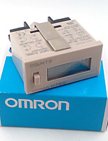 cheap -Omron H7EC-6 Electronic punch industrial counter vending machine digital counter counts when tired NO voltag with battery