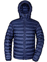 cheap -Hiking Jacket Winter Outdoor Thermal Warm Windproof Breathable Camping / Hiking Hunting Fishing Collection priority delivery Army Green [Priority delivery from collection stores] Stand ,_ Royal Blue