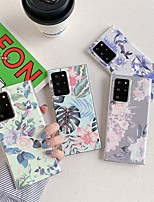 cheap -Case For Samsung Galaxy S9 / S9 Plus / S8 Plus Pattern Back Cover Flower TPU