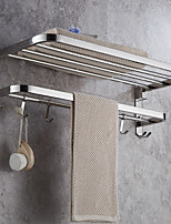 cheap -Towel Bar New Design Modern Stainless Steel + A Grade ABS 1pc 1-Towel Bar Wall Mounted