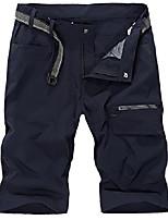 cheap -men's outdoor expandable waist lightweight quick dry shortssapphire blue 38