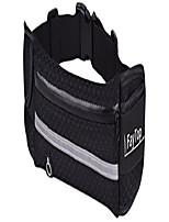 cheap -running belt waist pack bag fanny pack fitness belt with water bottle belt for men women sports travel running hiking, money iphone 6/7 6s / 7s plus samsung s5 s6 (black)