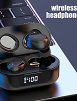 cheap -TW16 Wireless Earbuds TWS Headphones Bluetooth5.0 Stereo Dual Drivers with Charging Box Smart Touch Control LED Power Display for Sport Fitness