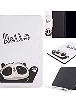 cheap -Case For Apple iPad Pro (2020) 11'' iPad 7 (2019) 10.2'' iPad Air 3 (2019) 10.5'' Wallet Card Holder with Stand Full Body Cases Panda PU Leather TPU for iPad 5 (2017) 9.7'' iPad 6 (2018) 9.7