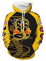 cheap -Inspired by Cobra Kai the Karate Kid Cobra Kai Cosplay Costume Hoodie Terylene Print Printing Hoodie For Men's / Women's