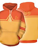 cheap -Inspired by Avatar: The Last Airbender Aang Cosplay Costume Hoodie Terylene 3D Printing Hoodie For Men's / Women's