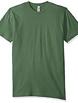 cheap -men's organic fine jersey classic t-shirt (3 pack), pine, x-large