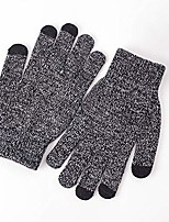 cheap -running gloves winter gloves walking glove cold weather windproof gloves for climbing, cycling, skiing, non-slip silicone gel glove(men & women) (black, s)