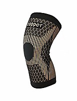 cheap -copper knee brace -copper knee sleeve compression for sports,workout,arthritis pain relief and support-single (xl)