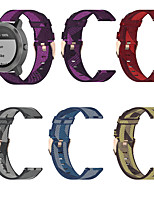 cheap -Nylon Watchband For Galaxy Watch 3 41mm/Galaxy Watch Active 3/Galaxy Watch 42mm Soft Breathable Replacement Strap 20mm Universal Band Sport Loop