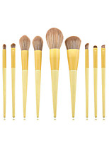 cheap -11 Pcs/12 Pcs Makeup Brush Set Fiber Brush Hair for Makeup Brushes Wooden Handle