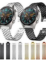 cheap -Watch Band for Huawei Watch GT / Huawei Watch 2 Pro / huawei honor Magic Huawei Business Band Stainless Steel Wrist Strap