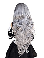 "cheap -32"" long curly cosplay wigs halloween anime daily party wig for women"