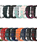 cheap -Breathable Silicone Sport Strap For Fitbit Charge 4 / Charge3 / Charge3 SE