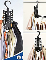 cheap -5 in 1 Pant Rack shelves ABS Plastic Clothes Hangers Multi-functional Wardrobe Hot Sale Magic Hanger