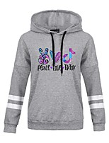 cheap -Inspired by Cosplay Cosplay Hoodie Polyester / Cotton Blend Print Printing Hoodie For Men's / Women's