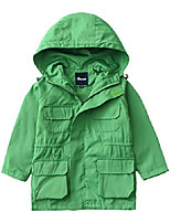 cheap -Hiking Jacket Hiking Windbreaker Outdoor Thermal Warm Windproof Breathable Camping / Hiking Hunting Fishing Black Red Yellow Green Navy Blue